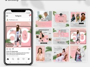Jasa Desain Feed Instagram - Fashion & Beauty
