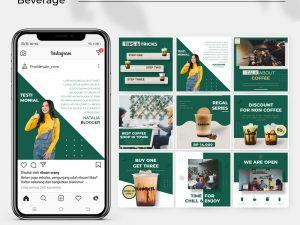 Jasa Desain Feed Instagram - food and beverage