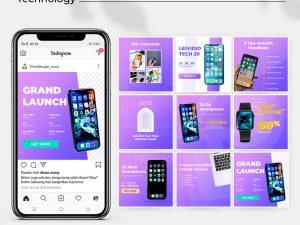 Jasa Desain Feed Instagram - apps & technology