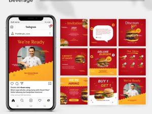Jasa Desain Feed Instagram - food and beverage 02-min
