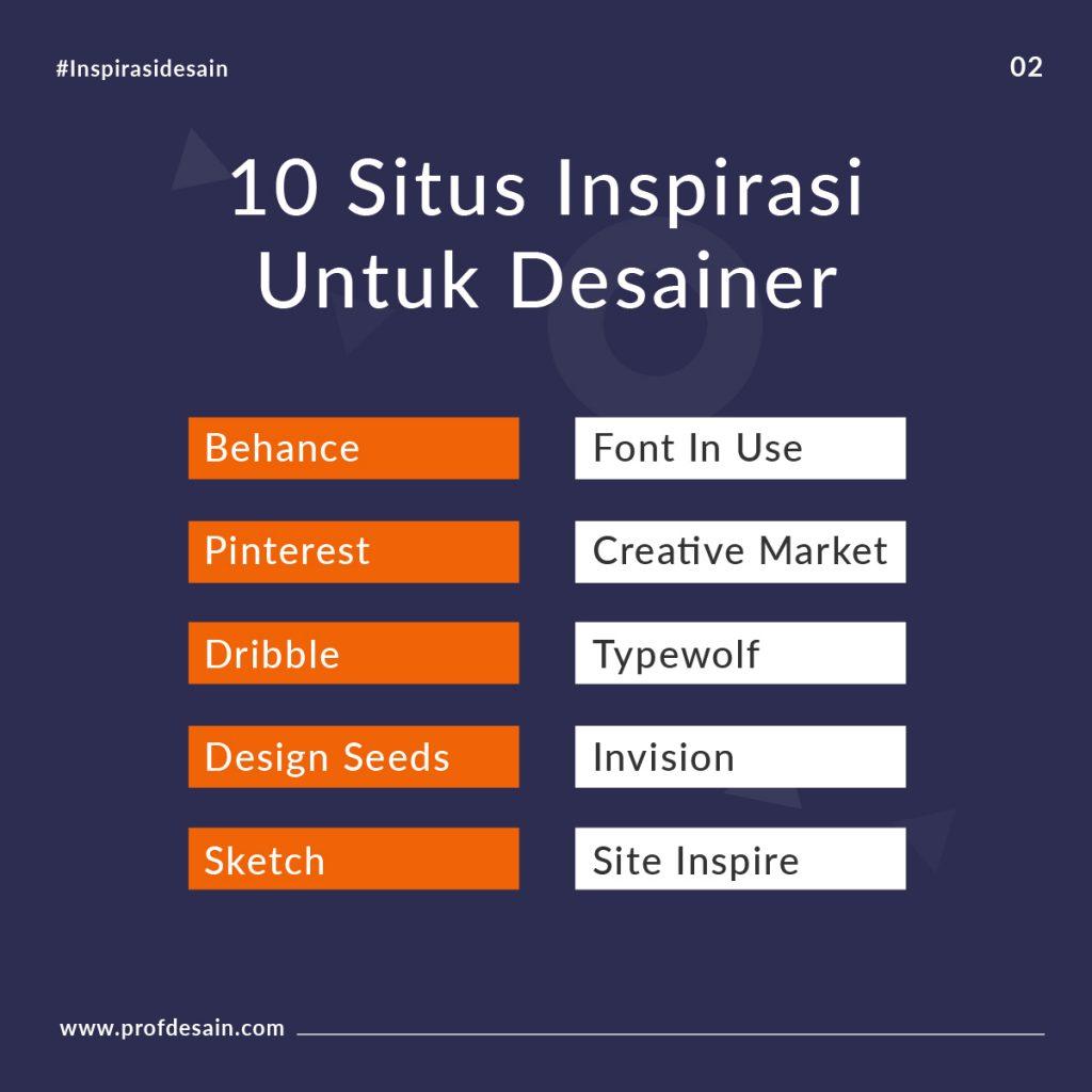 Tips mencari inspirasi desain